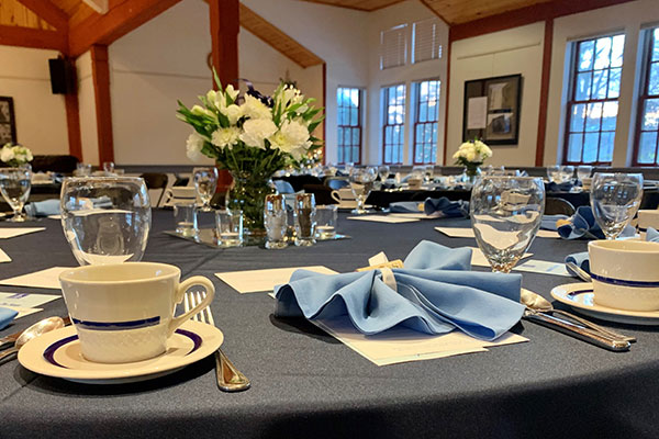 Contract Dining Services Table Setting