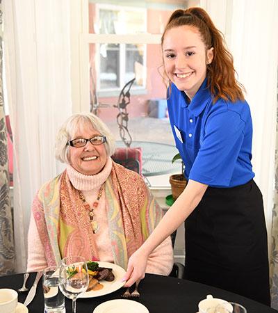 Senior Dining Food Service Staff