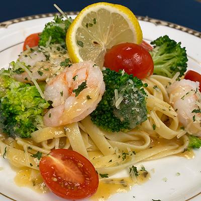 Shrimp & Pasta Dining Service
