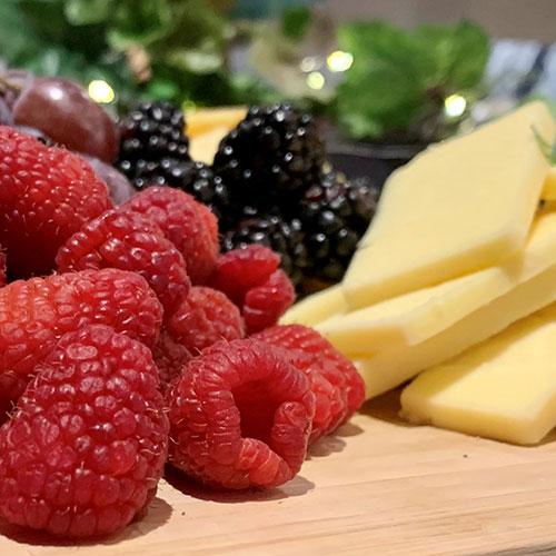 Raspberries & Cheese